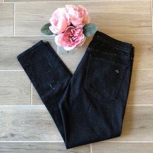 EUC Rag & Bone crop jeans